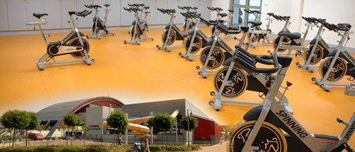 3 VSTUPy na spinning do fitness centra Morris
